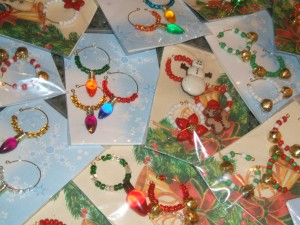 Wine Glass Charms  3 pkg for $10