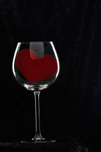 Heart in a Wineglass