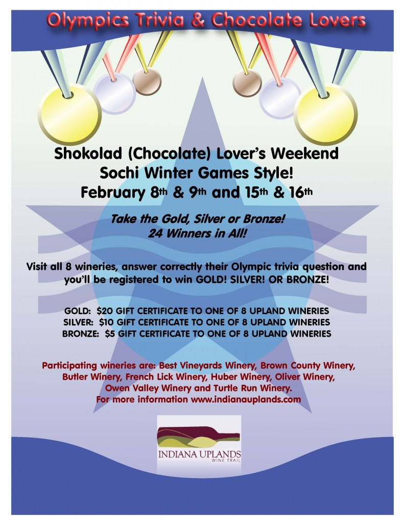 iuwt chocolate lovers 2014 Poster