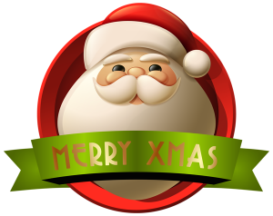 Santa_Merry_Xmas_Decoration_PNG_Clip-Art_Image